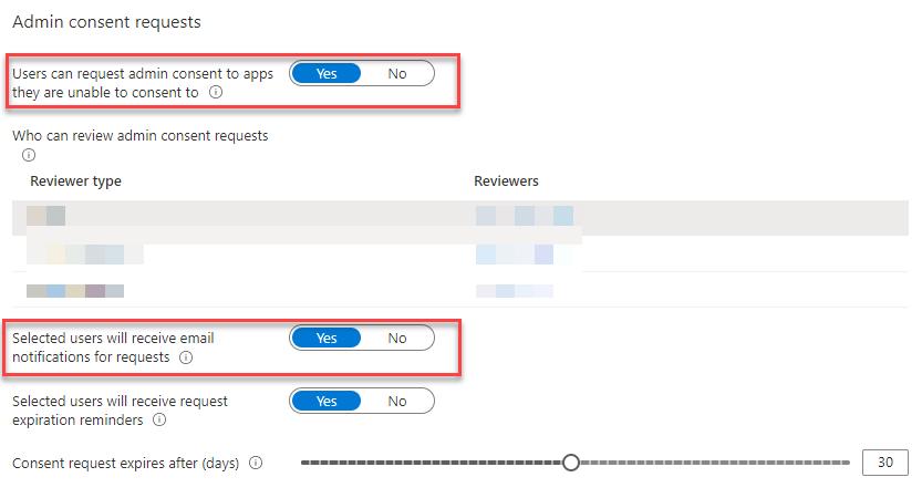 Azure App Admin Consens